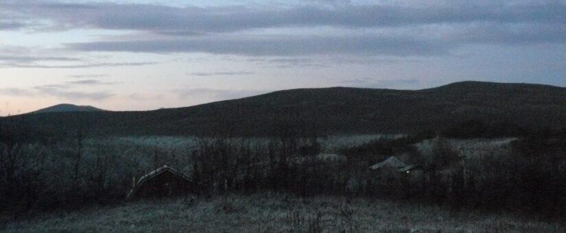 Инверсия температур или теплые холмы, холодные низины